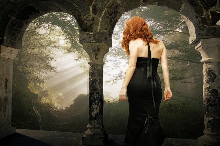 Sara Carbonero Arevalo Black Dress
