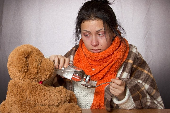 infections such as the flu