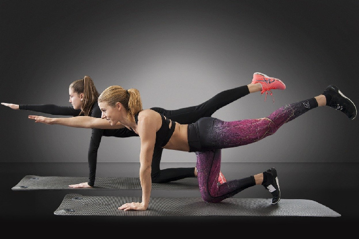 Outstretch your arm - Abdominal Fat