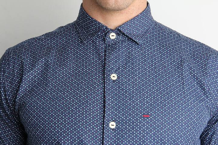 Sleeves Casual Shirt - Peter England