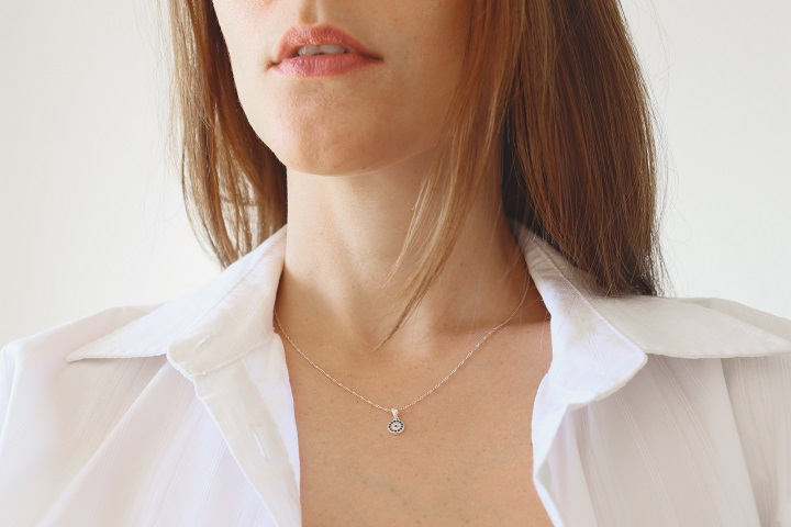 Layers of necklace
